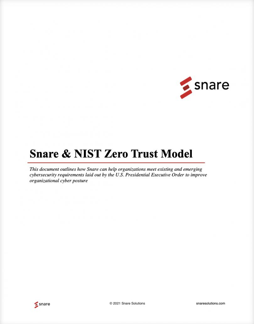 NIST Zero Trust Model