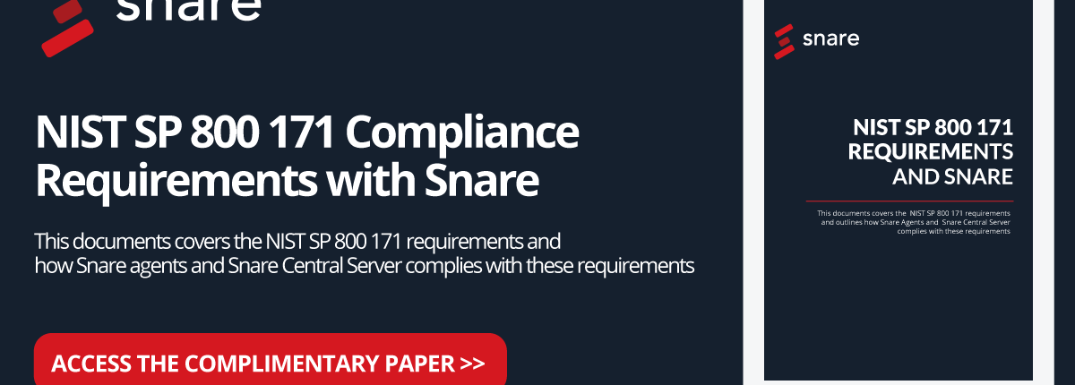 NIST SP 800 171 Requirements and Snare
